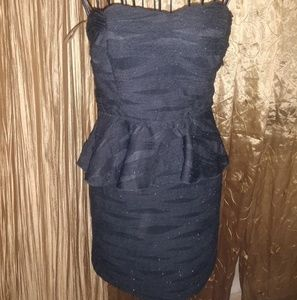 Dresses & Skirts - Peplum dress size S